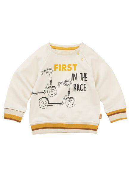 babysweater gebroken wit gebroken wit - 1000011967 - HEMA
