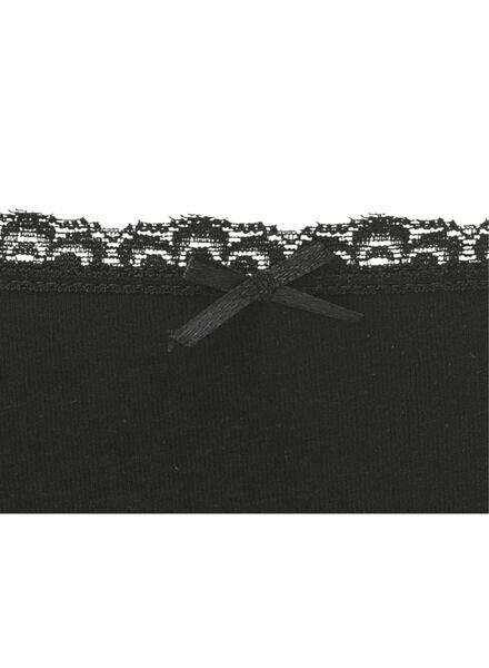 3-pak damesslips grijsmelange grijsmelange - 1000006551 - HEMA