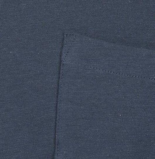 heren t-shirt donkerblauw donkerblauw - 1000019052 - HEMA
