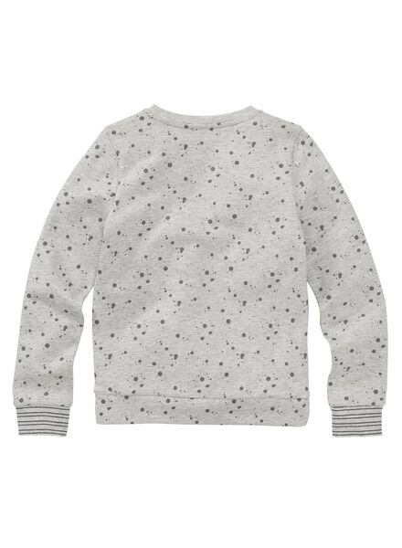 kindersweater lichtgrijs lichtgrijs - 1000006042 - HEMA