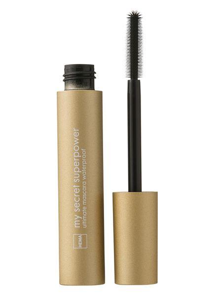 ultimate mascara waterproof - 11210063 - HEMA