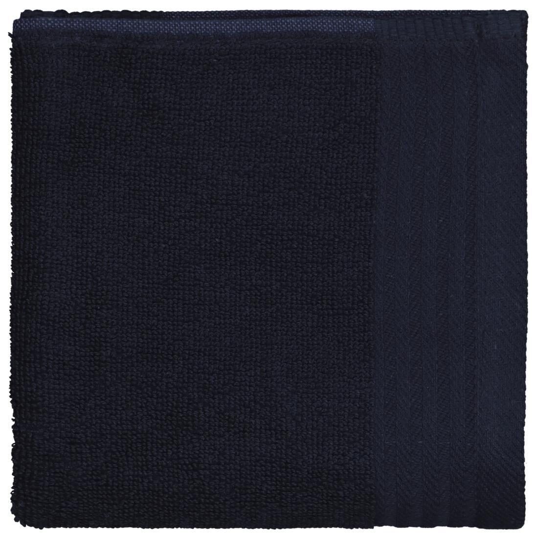 HEMA Keukendoek 50x50 Katoen Donkerblauw