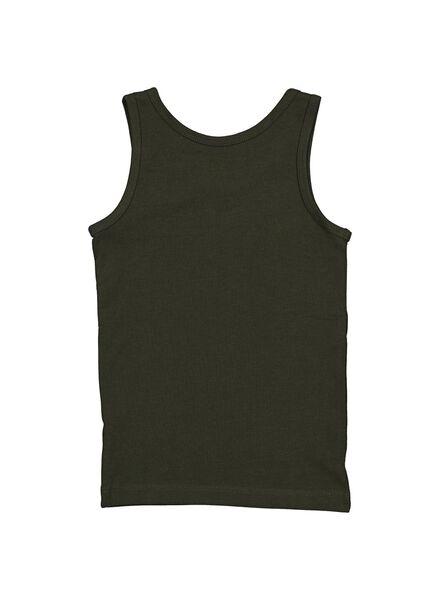 2-pak kinderhemden grijsmelange 98/104 - 19270322 - HEMA