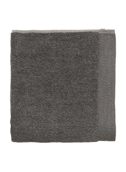 handdoek - 60 x 110 cm - bamboe - donkergrijs uni - 5220021 - HEMA