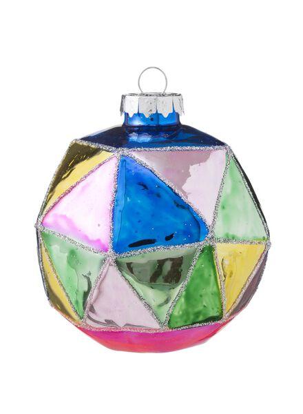 glazen kerstbal - 25100001 - HEMA