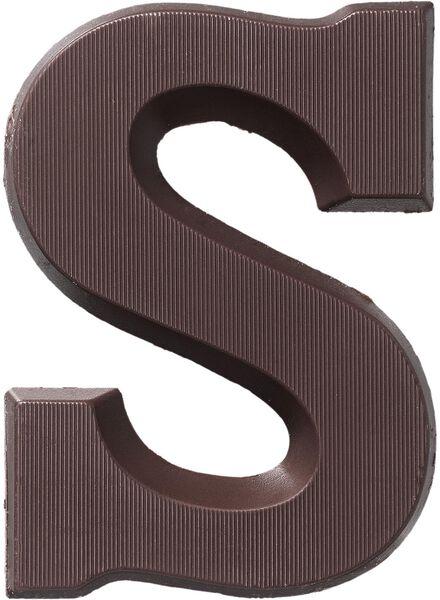 pure chocoladeletter S - 10034016 - HEMA