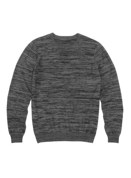 herentrui grijs grijs - 1000009599 - HEMA
