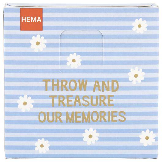 throw & grow confetti bloemzaadjes - make some memories - 41810084 - HEMA