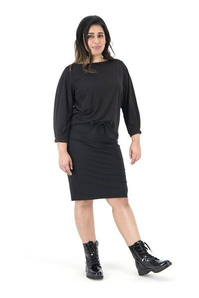 dames top zwart zwart - 1000019224 - HEMA