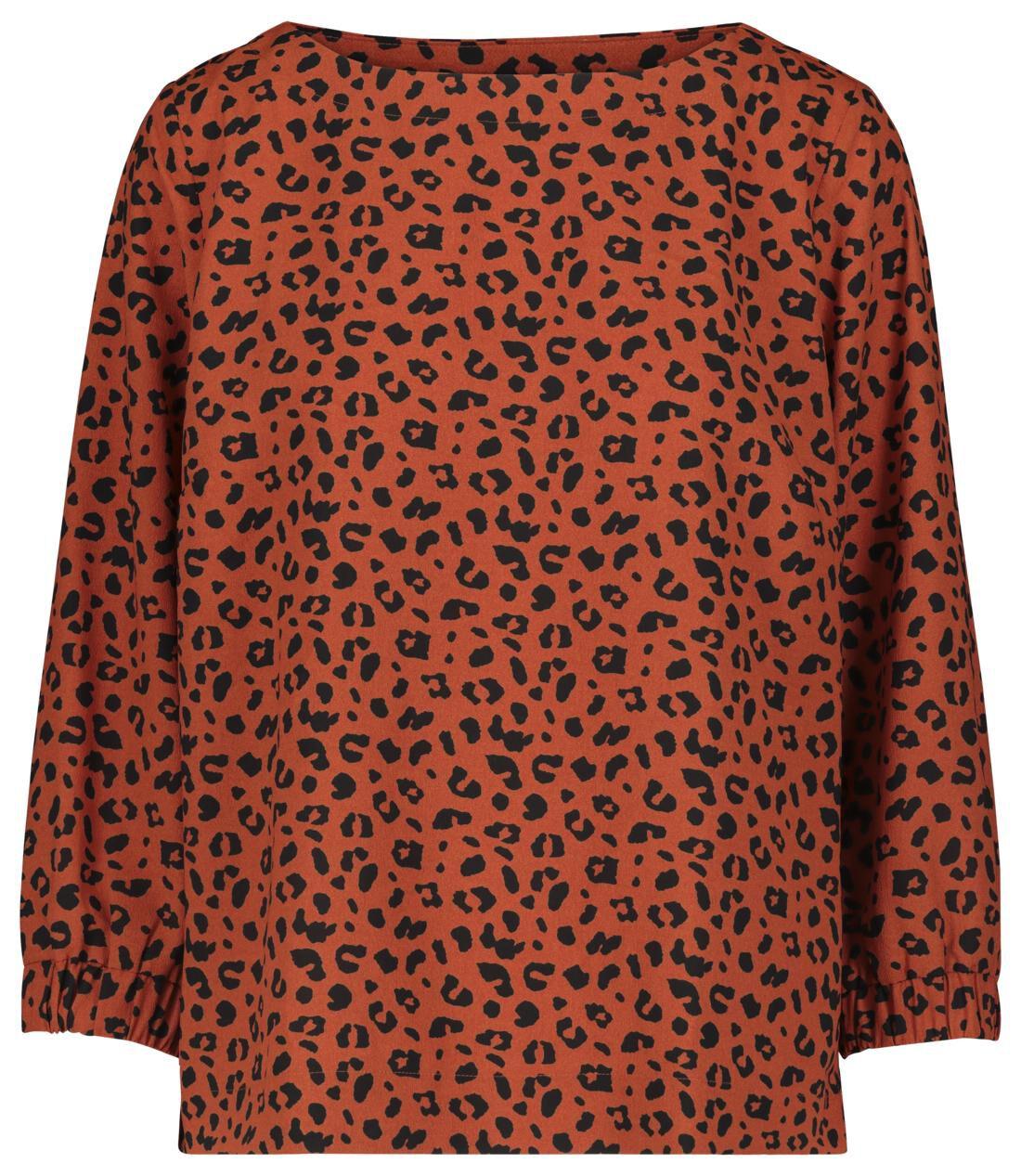 HEMA Dames Top Oranje (oranje)