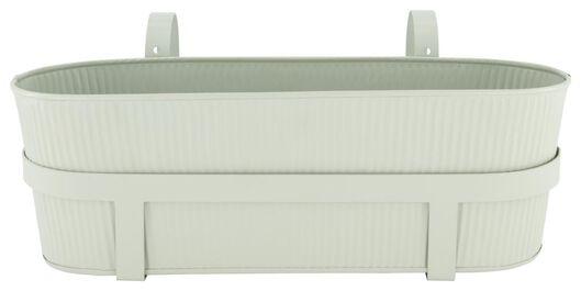 bloembak 13x39x13.5 met balkonhaken groen - 41810261 - HEMA