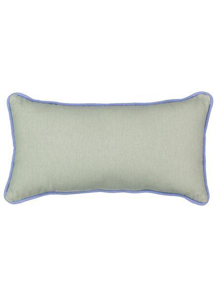 kussen - 23 x 43 - confetti - blauw - 7392107 - HEMA