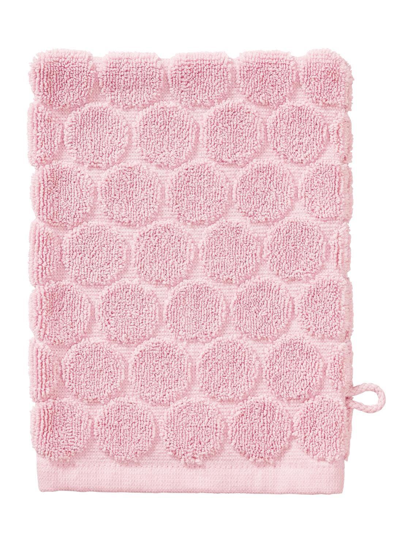 Washand - Zware Kwaliteit - Roze Stip (roze)