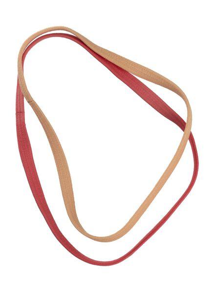 2-pak sport haarbanden - 11870019 - HEMA