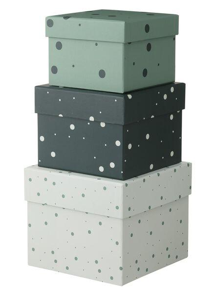 3-pak kartonnen dozen - 39882002 - HEMA
