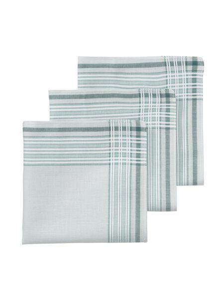 3-pak zakdoeken 30 x 30 cm - 1400016 - HEMA