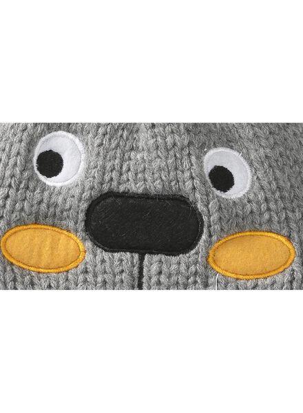 babymuts grijsmelange grijsmelange - 1000009648 - HEMA