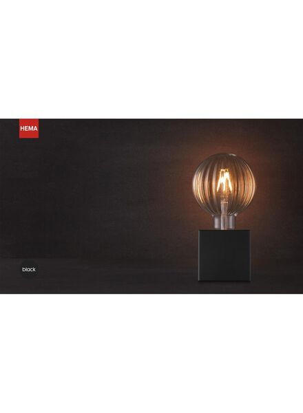 tafellamp - 1.5 m - zwart - 20020090 - HEMA