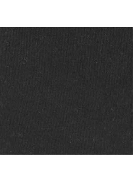 dames badjas zwart zwart - 1000008534 - HEMA