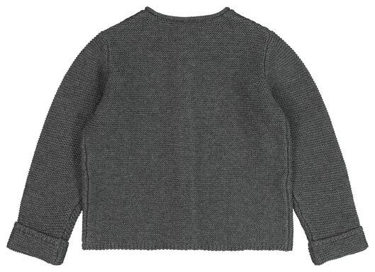babyvest grijs grijs - 1000020192 - HEMA