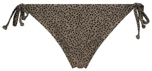 damesbikini - animal beige XL - 22340785 - HEMA