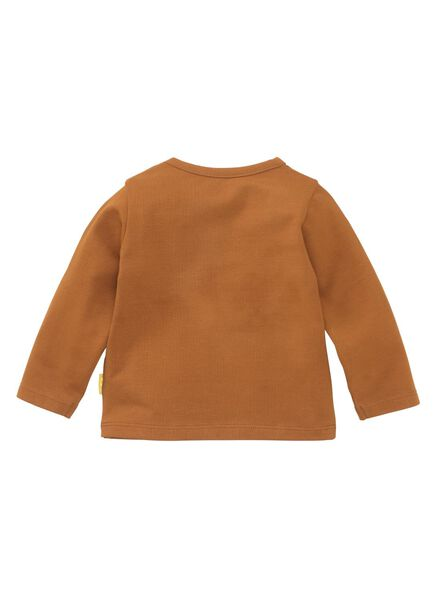baby t-shirt bruin - 1000008510 - HEMA