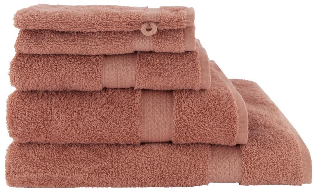 HEMA Handdoeken - Zware Kwaliteit Oudroze (oudroze)