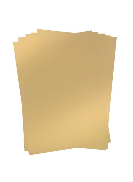 5-pak metallicpapier A4 - 15940101 - HEMA