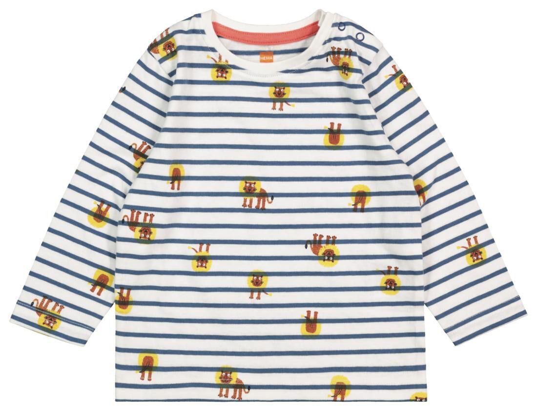 HEMA Baby T-shirt Blauw (blauw)