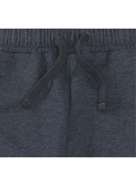 heren sweatbroek donkerblauw donkerblauw - 1000009026 - HEMA