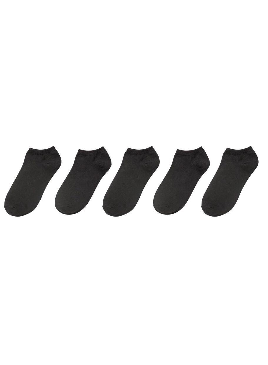 c6767c23013 5-pak sneaker sokken zwart