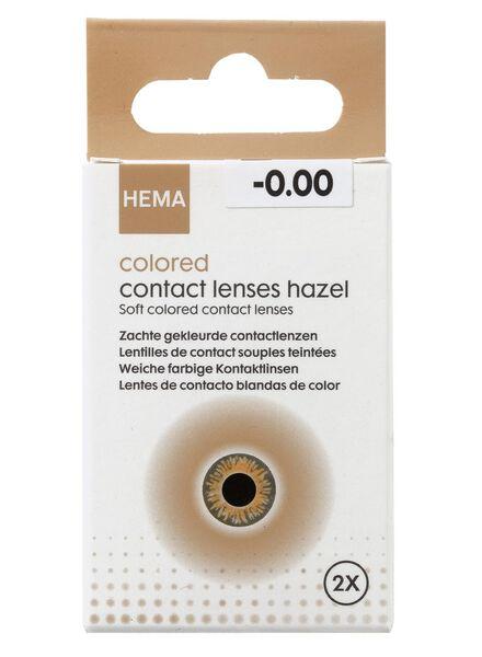 gekleurde contactlenzen - bruin - 11973021 - HEMA