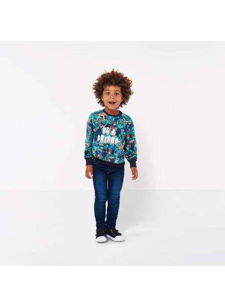 kindersweater crewneck - Bananas&Bananas multi2 multi2 - 1000016519 - HEMA