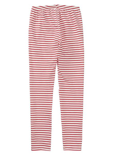 kinderpyjama rood rood - 1000012217 - HEMA