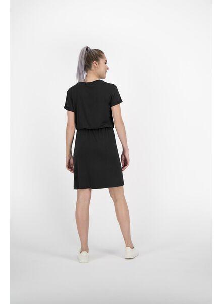 damesjurk zwart zwart - 1000013840 - HEMA