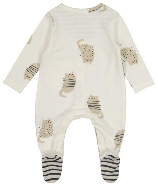 newborn set stretch kat wit wit - 1000021364 - HEMA