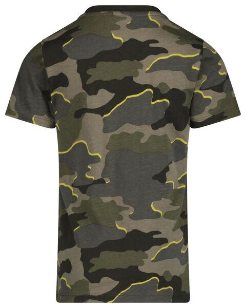 kinder t-shirt mini-me groen groen - 1000019514 - HEMA