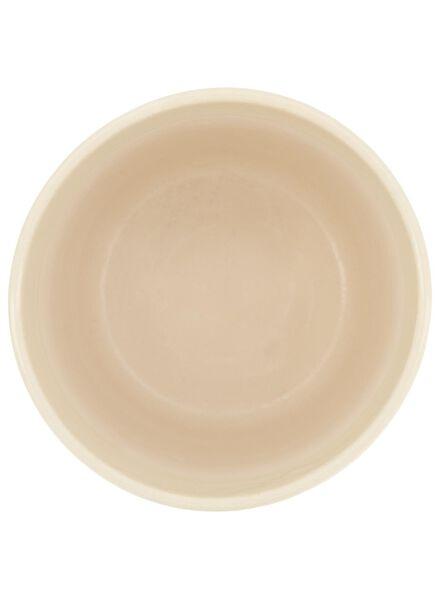 Dagaanbieding - bloempot - 18 cm x Ø 18 cm - zwart/wit keramiek stip dagelijkse koopjes