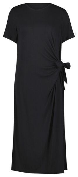 damesjurk strik zwart M - 36272387 - HEMA