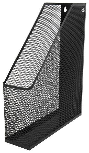 tijdschriftencassette zwart - 14580102 - HEMA