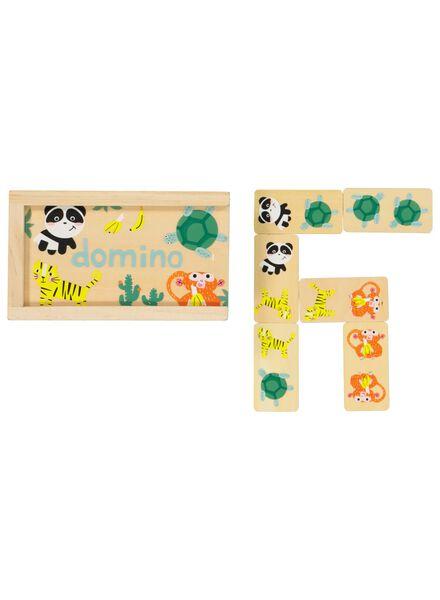 houten domino - dieren - 15190045 - HEMA