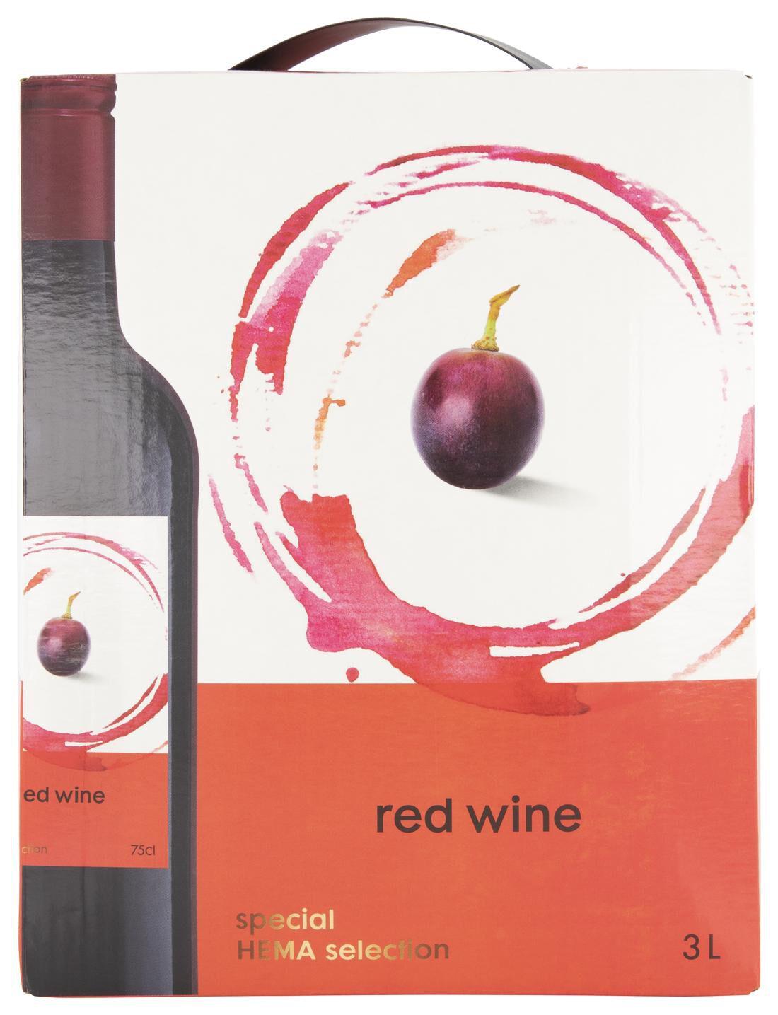Huiswijn Rood Bag-in-box - 3 L