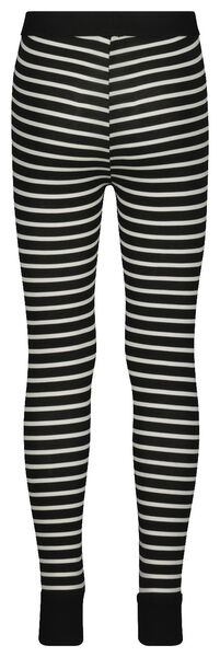 kinderlegging mini-me zwart/wit zwart/wit - 1000019292 - HEMA