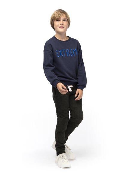 kinder sweatbroek donkergroen donkergroen - 1000015013 - HEMA