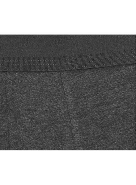 2-pak RLC long boxer donkergrijs donkergrijs - 1000001058 - HEMA