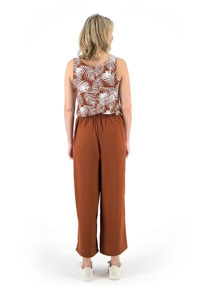 damesbroek bruin bruin - 1000019632 - HEMA