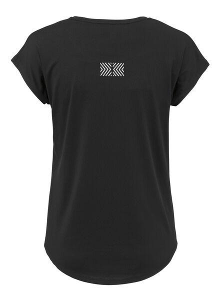 dames sportshirt zwart zwart - 1000013453 - HEMA