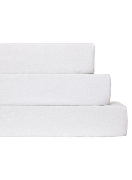 molton hoeslaken - stretch wit wit - 1000014041 - HEMA