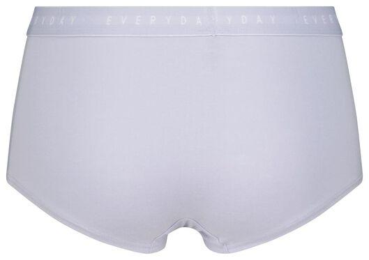 damesboxer katoen lichtblauw XL - 19639955 - HEMA