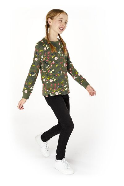 kindersweater groen groen - 1000020109 - HEMA